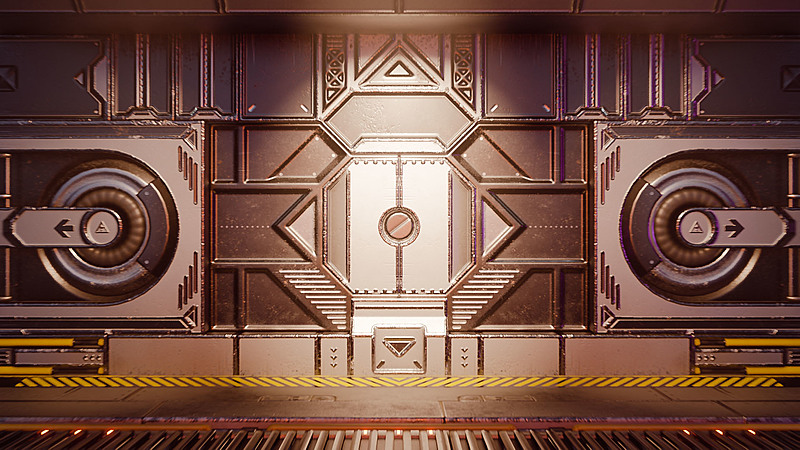 Create a Game-Ready Sci-Fi Door
