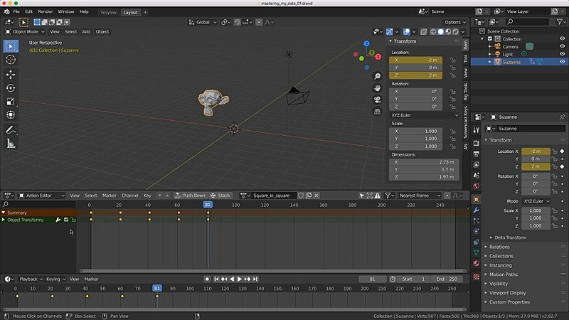 Master Your Animation Data