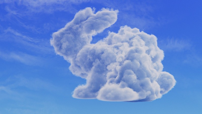 Make a Shape with Clouds