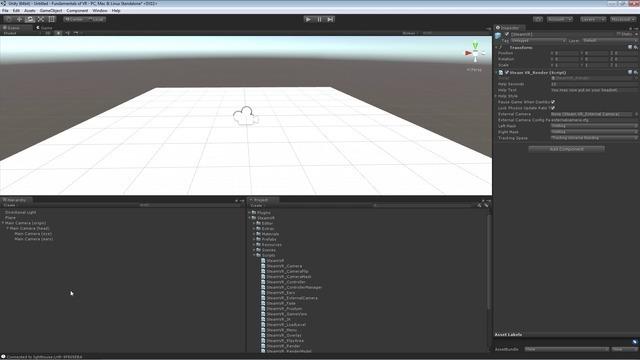 Creating a Basic VR Scene