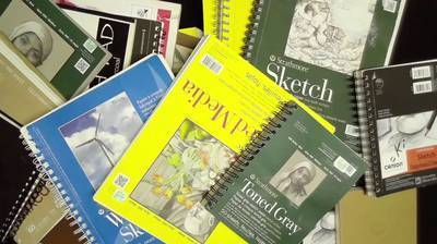 Sketchbooks and Paper