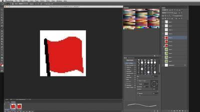 Animating a Flag