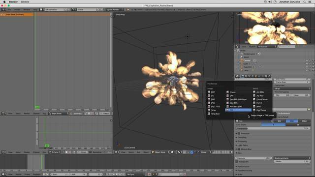 Creating a Blender Image Sequence