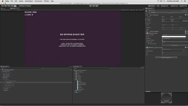 Scripting the Joystick