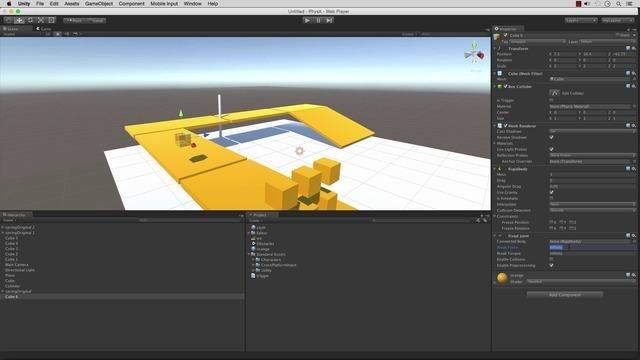 Creating a Physics Platform Game