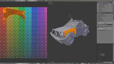Editing Multi-Object UV Sets