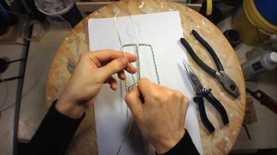 Making a Basic Wire Armature