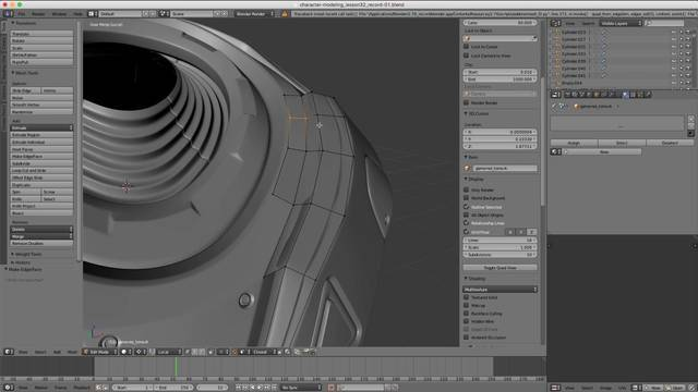 Combining Objects with Retopology