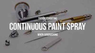 Continuous Paint Spray