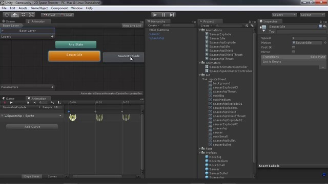 Setting up Sprite Animations