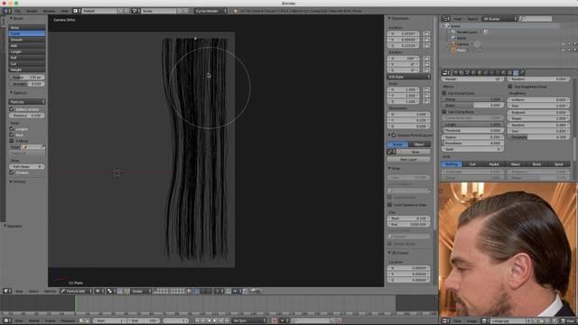 Create Hair Card Texture