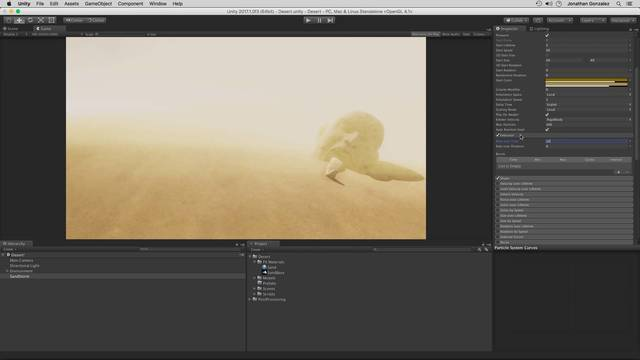 Building the Sand Storm Base