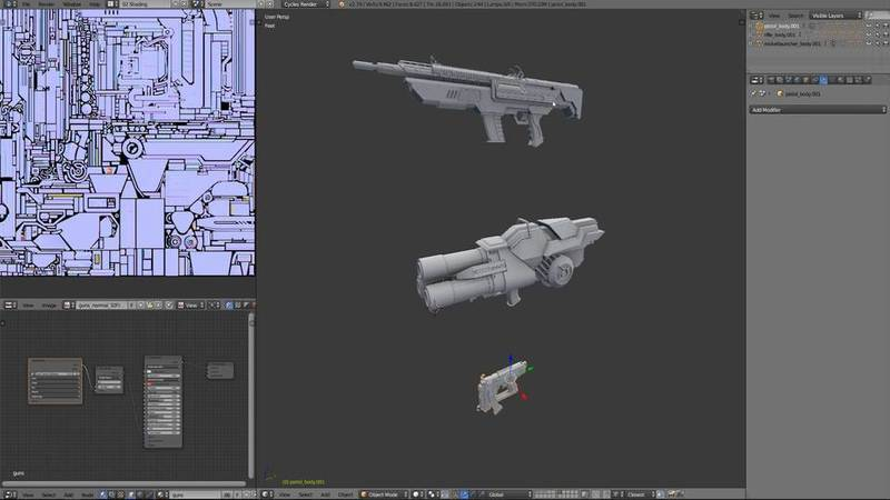 Prepping models for texturing