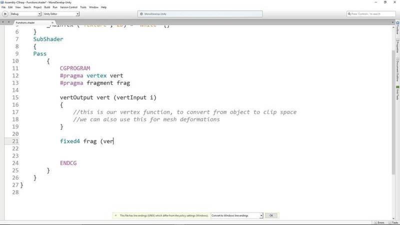 Using Shader Functions