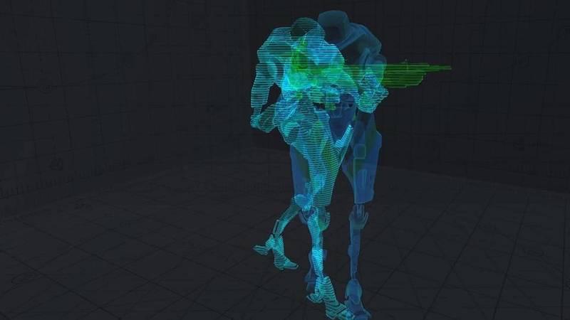 Hologram Shader Concepts