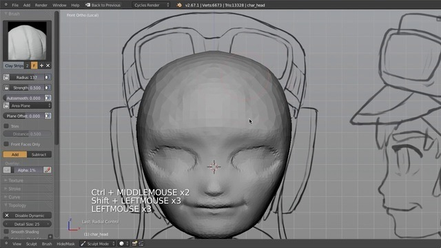 Sculpting the Head & Face I