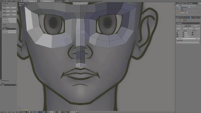 Cartoon Head Pt. 1 - Main Loops