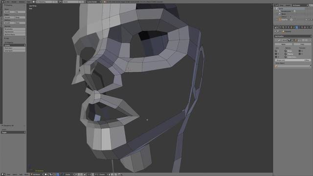 Cartoon Head Pt. 2 - Connecting the Features
