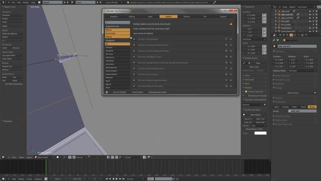 Edit Linked Library Addon