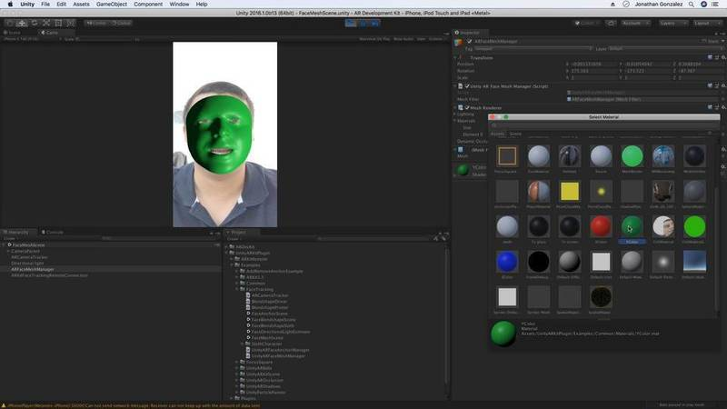 Face Tracking Examples