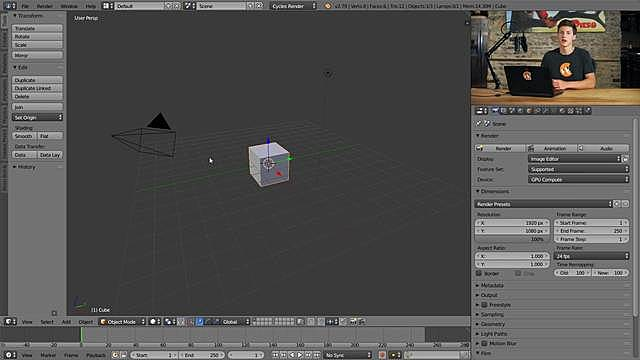 Selecting Objects in Blender