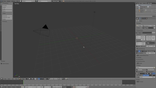Next Steps in Blender