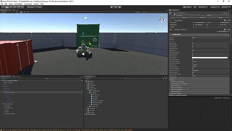 Adding Tank Death FX