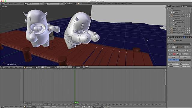Mirroring Animation with Mesh Cache