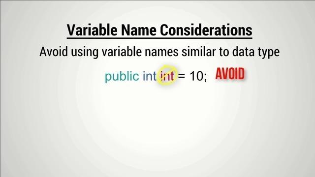 Understanding Variables