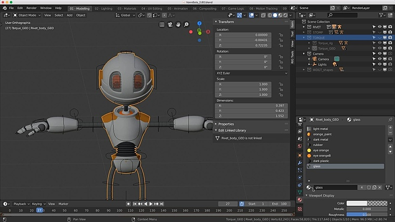 Transparent Materials in the Viewport