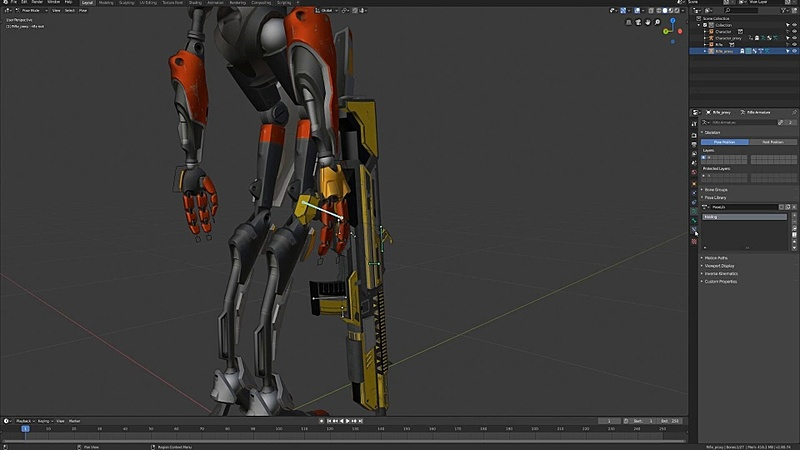 Linking the Robot and the Rifle