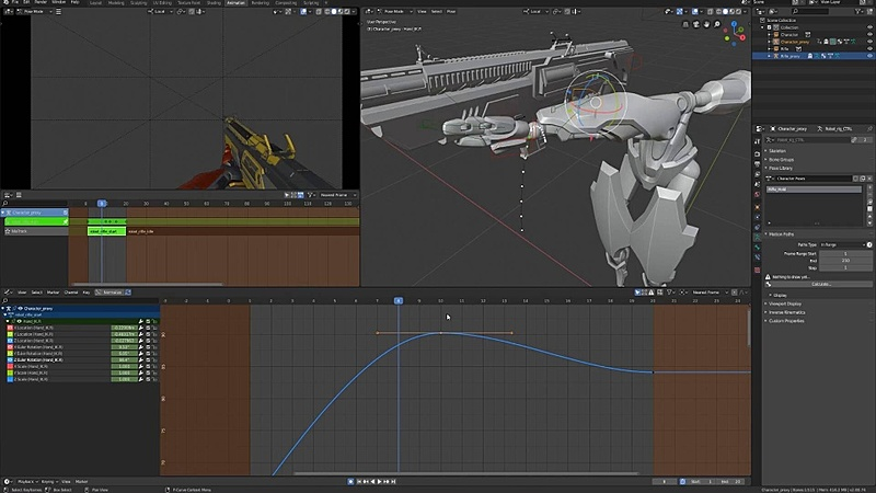 Animating the Weapon Switch Transitions