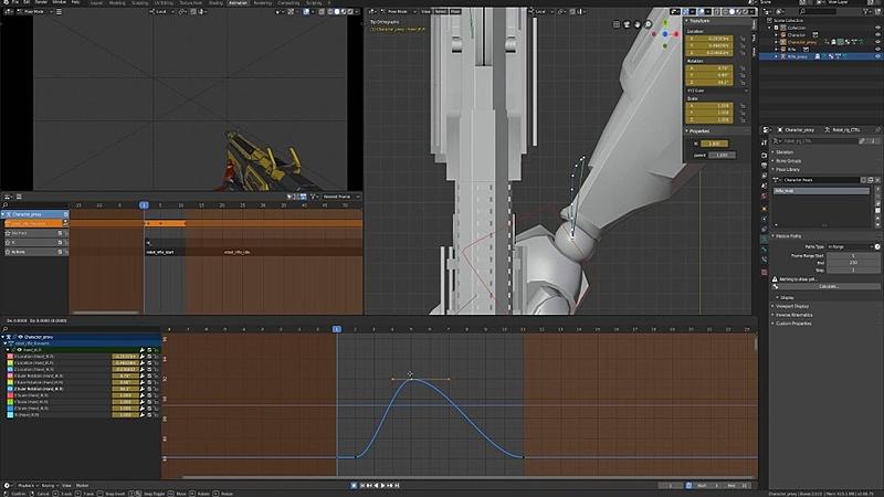 Animating the Semi Auto Rifle Fire