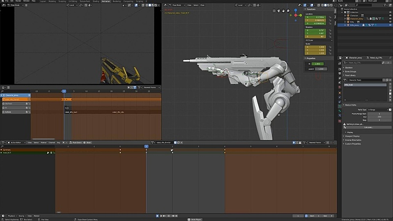 Animating the Full Auto Rifle Fire