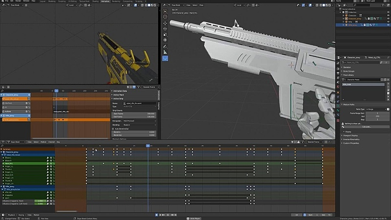 Refining the Reload Animation Pt. 1