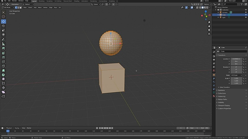 Object and Mesh Data