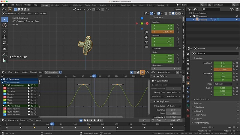 Graph Editor and Interpolation