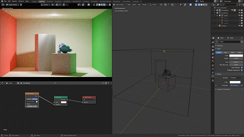Texturing Lights with IES Data