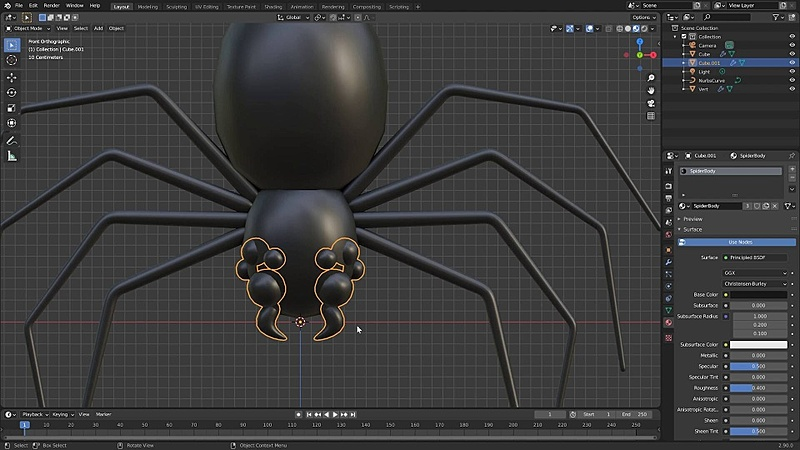 Getting started, creating the spider