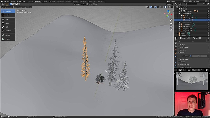 Begin Forest Layout