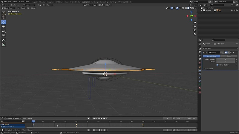 Basics of the UFO Rig