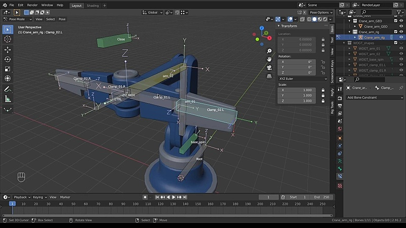 Rig a Crane Arm - Part 04