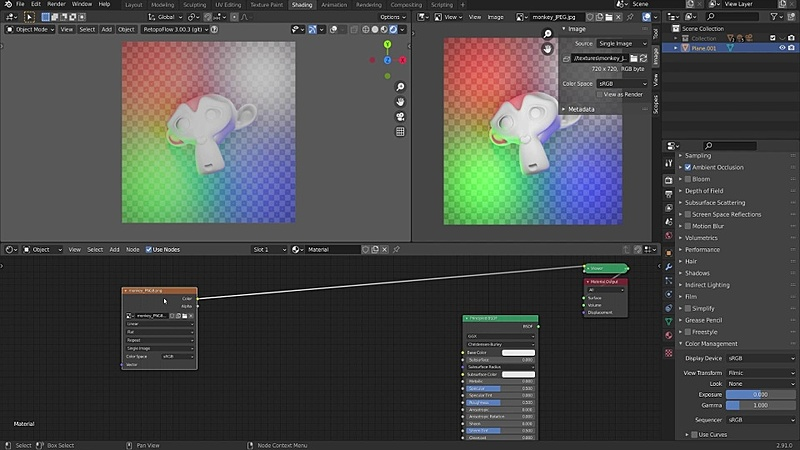 Color Managing Textures