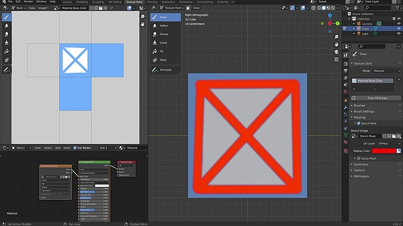 Texturing Tools, Masking, and Symmetry