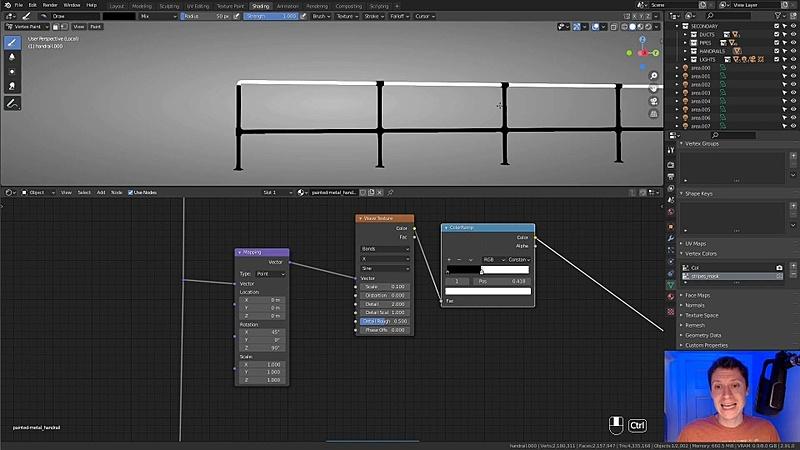 Material: Handrails