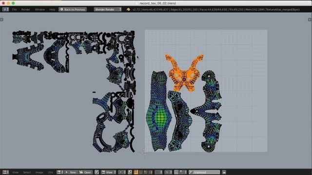 Consolidating UVs with Texture Atlas