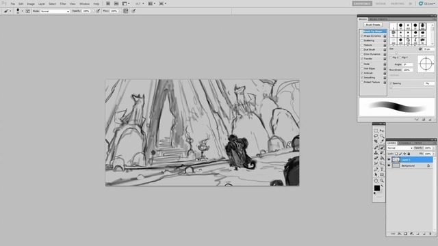 The Initial Thumbnail Sketch