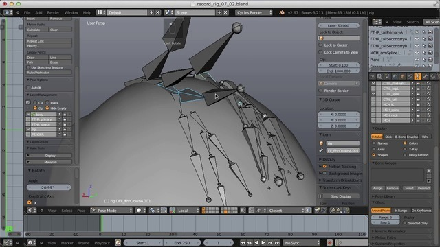 Rigging the Head & Face