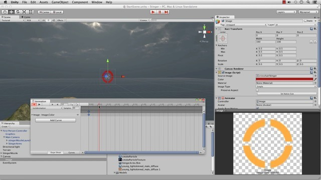 UI Setup and Animations