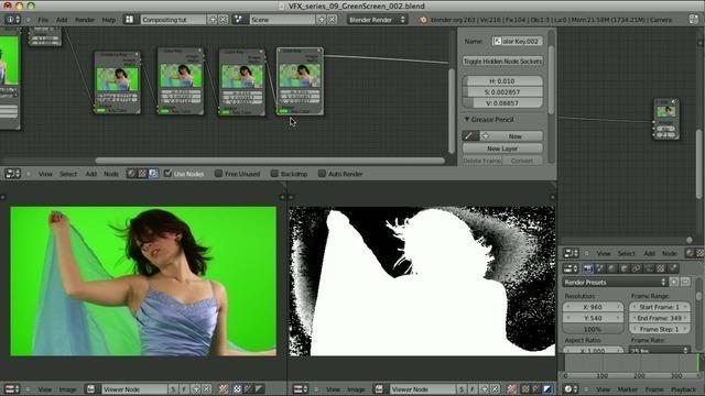 Green/Blue Screen – Alpha channel